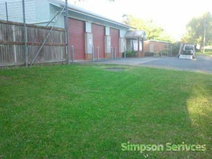 lawn mowing property maintenence commercial
